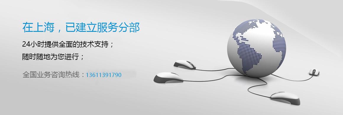 在上海,已建立了8个服务分部